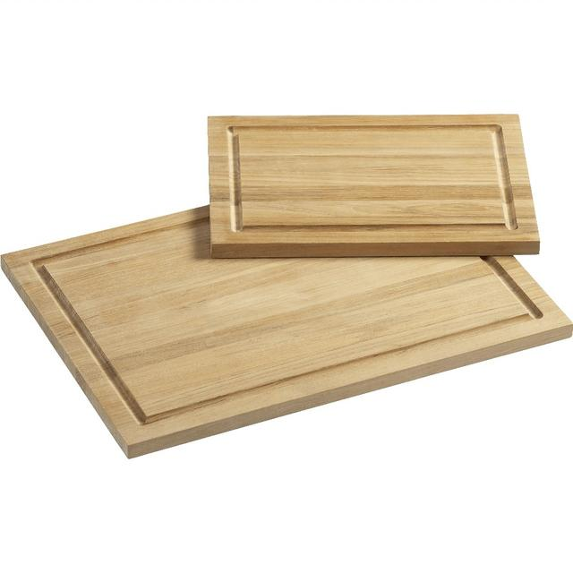 Rectangular Cutting Boards with Well